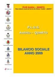 Bilancio Sociale Ambito Quartu - Sociale - Provincia di Cagliari