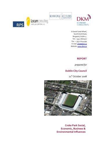 Croke Park Study - Dublin City Council
