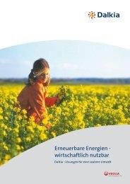 Erneuerbare Energien - wirtschaftlich nutzbar - Dalkia