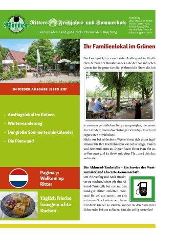 Ihr Familienlokal im Grünen Ritter# Frühjahr#- und ... - futec AG
