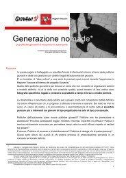 Generazione nomade* - Giovanisì