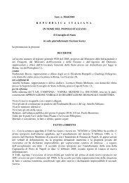 Sentenza n. 5044 del 30 luglio 2010 del - Ufficiopatrimonio.it
