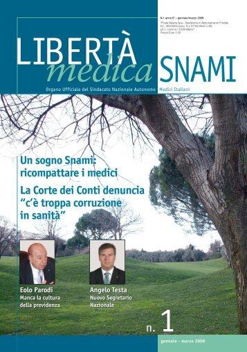 N° 1/2008 - SNAMI Messina