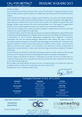 CALL FOR ABSTRACT.pdf - Timeo Editore - Page 2