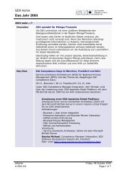 News/Events 2004 PDF - SDX • AG