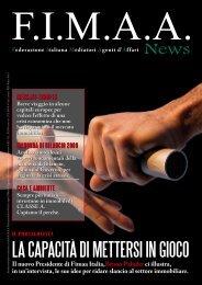 F.I.M.A.A. news N.37 - Gennaio 2009