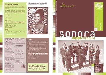 Buone Vibrazioni - Sonora