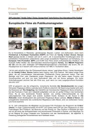 Europäische Filme als Publikumsmagneten - European Film ...