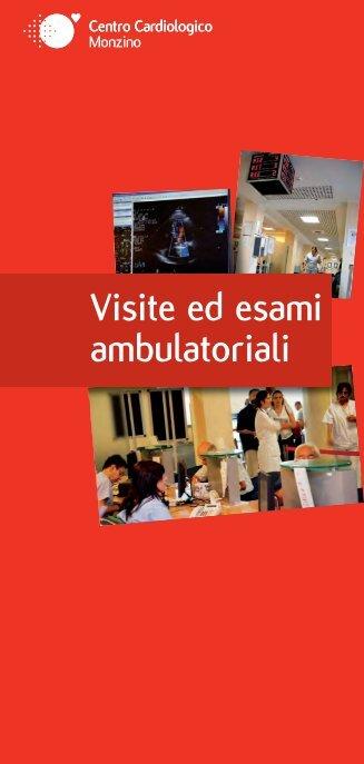 visite e esami ambulatoriali - Centro Cardiologico Monzino