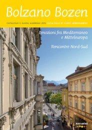 Emozioni fra Mediterraneo e Mitteleuropa Rencontre Nord ... - Bolzano