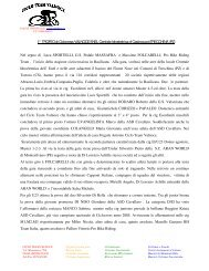 I° TROFEO di Ciclocross VALNOCE ENEL Centrale Idroelettrica di ...