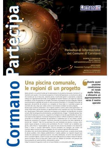 Nr.6 - Dicembre 2007 (scarica .pdf) - Comune di Cormano