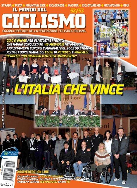 giro d'onore - Federazione Ciclistica Italiana