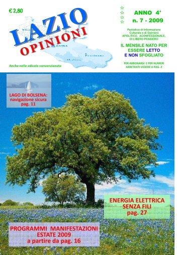 Numero 7 - Lazio Opinioni
