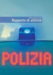 Rapporto di attività - Repubblica e Cantone Ticino