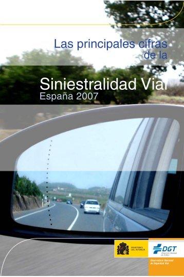 Siniestralidad Vial - Dirección General de Tráfico