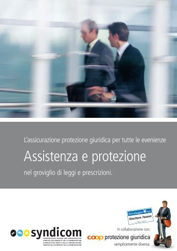 Coop protezione giuridica (PDF) - Syndicom