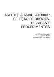seleção de drogas, técnicas e procedimentos