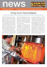 news - Edelstahl Rosswag