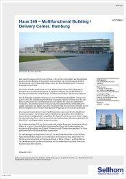 Airbus Delivery Center, Hamburg - Sellhorn Ingenieurgesellschaft ...