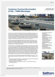 Container-Terminal Burchardkai (CTB) ? TRMG-Blocklager