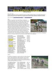 Ziklokross Astarria - Ciclismo en Bizkaia