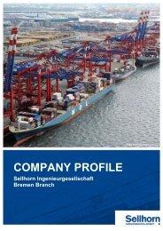 Company Profile (513 KB) - Sellhorn Ingenieurgesellschaft mbH