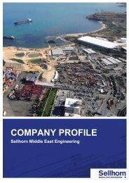Company Profile (PDF 562 KB) - Sellhorn Ingenieurgesellschaft mbH