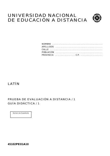 Latín Uned