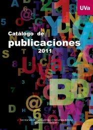 2011 - Publicaciones - Universidad de Valladolid