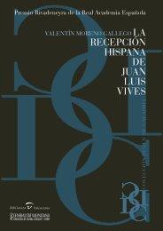 La recepción hispana de Juan Luis Vives - Biblioteca Valenciana ...