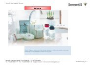 Serrentis Hotel Supplies - Hotel cosmetics – Our hotel guest amenities line Airone