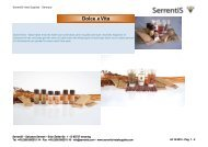 Serrentis Hotel Supplies - Hotel cosmetics – Our hotel guest amenities line Dolce e Vita