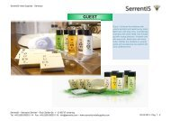 Serrentis Hotel Supplies - Hotel cosmetics – Our hotel guest amenities line Guest