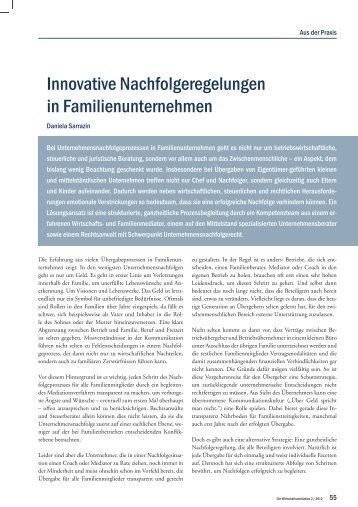 Die Wirtschaftsmediation - Semigator.de