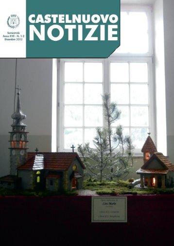Bollettino comunale anno 2012 - Comune di Castelnuovo