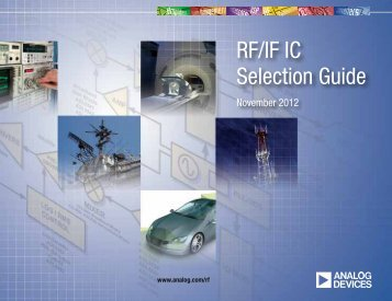 RF/IF IC Selection Guide - Analog Devices