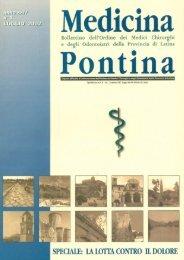 Medicina Pontina - 2002 luglio n. 1 La lotta contro il dolore