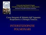 INTERSTIZIOPATIE POLMONARI - laprimapietra - Altervista