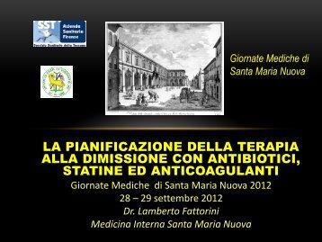 Lamberto Fattorini - Società Medica di Santa Maria Nuova