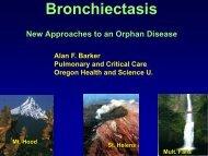 Bronchiectasis - American Lung Association