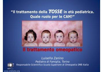 Il i Il trattamento omeopatico trattamento omeopatico Luisella ... - Fimp