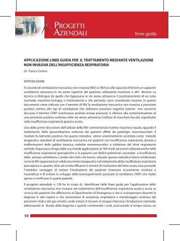applicazione linee guida per il trattamento mediante ... - Ausl