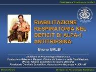 Riabilitazione Respiratoria - Associazione Nazionale Alfa1-At, onlus