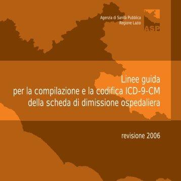 6) Linee guida ASP per la Codifica ICD – 9 - Azienda Ospedaliera S ...