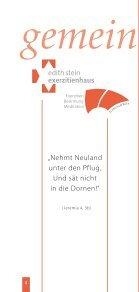 Exerzitien · Besinnung · Meditation - Erzbistum Köln - Seite 2