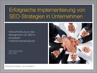 Erfolgreiche Implementierung von SEO-Strategien in Unternehmen
