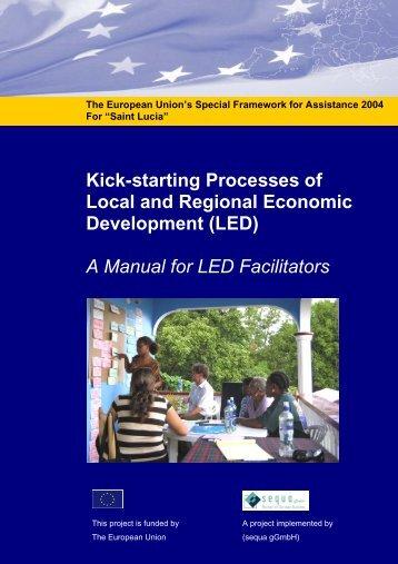 A Manual for LED Facilitators - sequa gGmbH