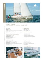IY 10.98 Specifiche Tecniche ITA Download PDF - ITALIA YACHTS