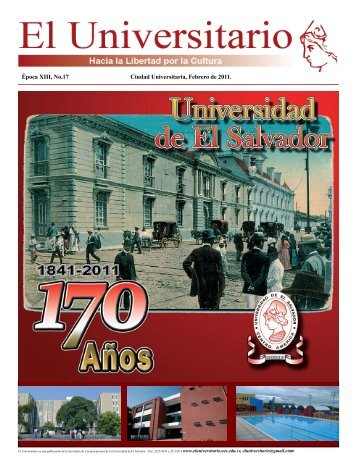 Época XIII, No.17 Ciudad Universitaria, Febrero de 2011.
